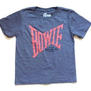 Bowie Shirts & Tops - Bowie Concert Tour 83 kids T-shirt